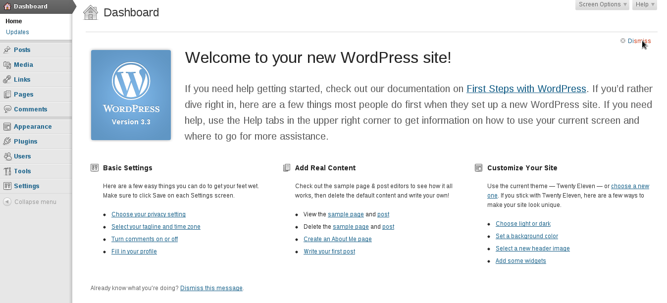 Rollback to WordPress 3.4 or 3.5