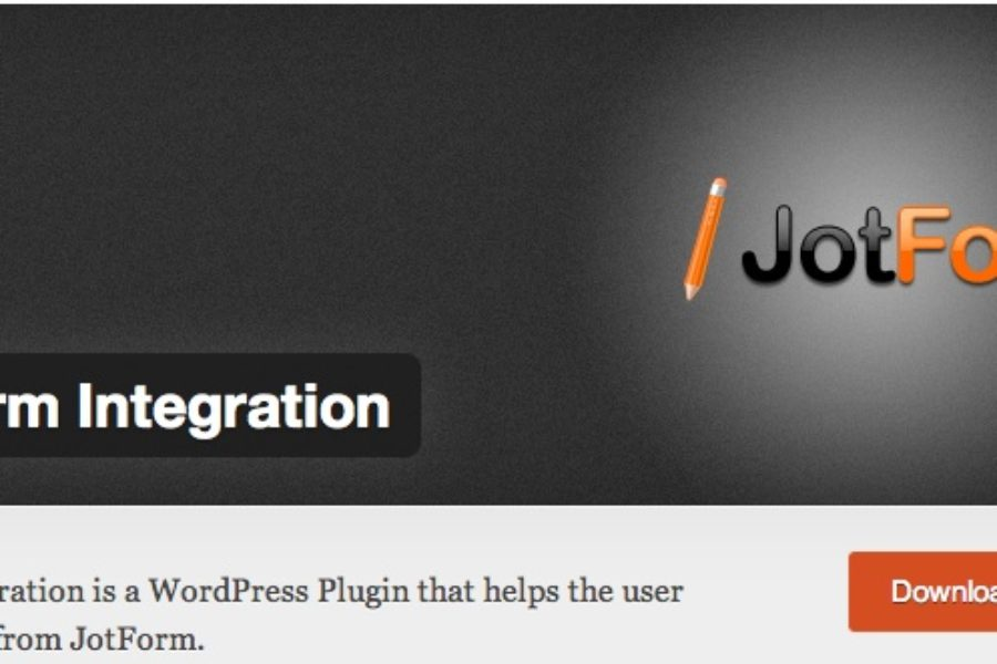 Jotform Integration plug-in