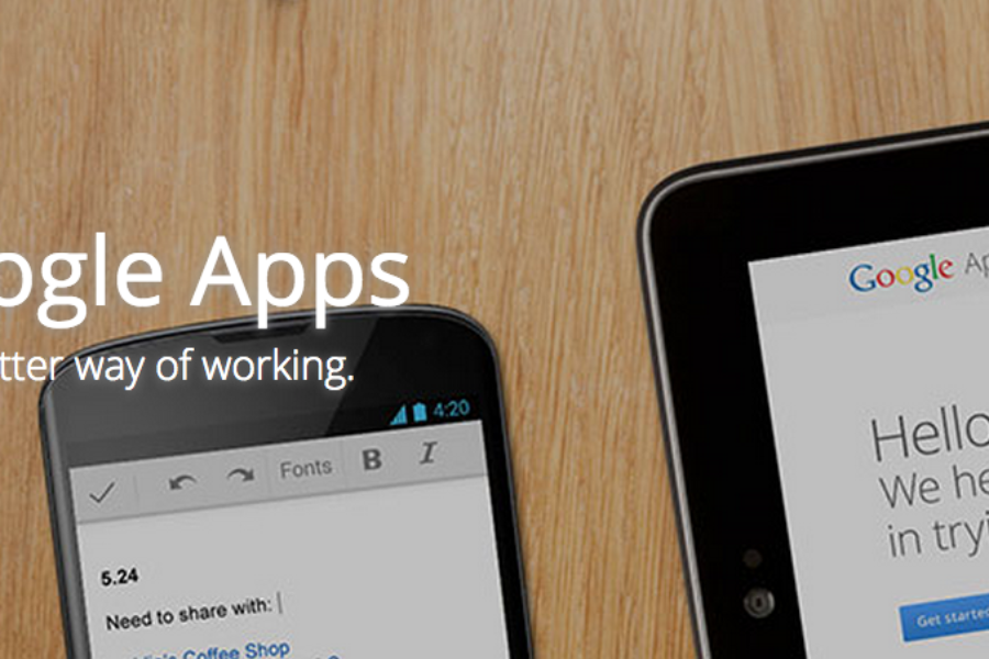Google Apps for Work – yes, we love!