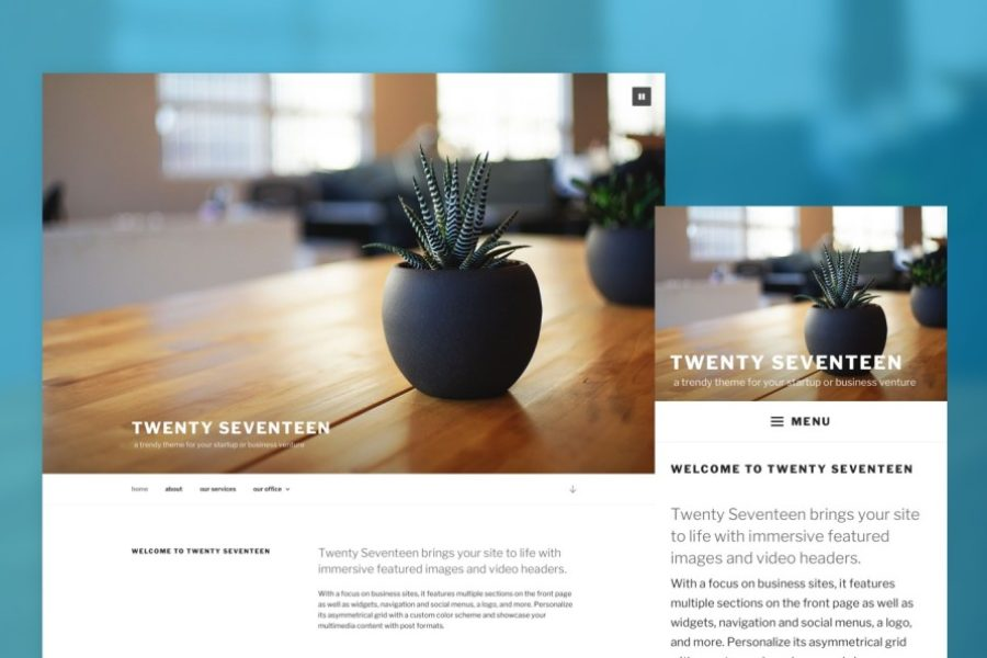 Vaughan – Welcome to WordPress 4.7
