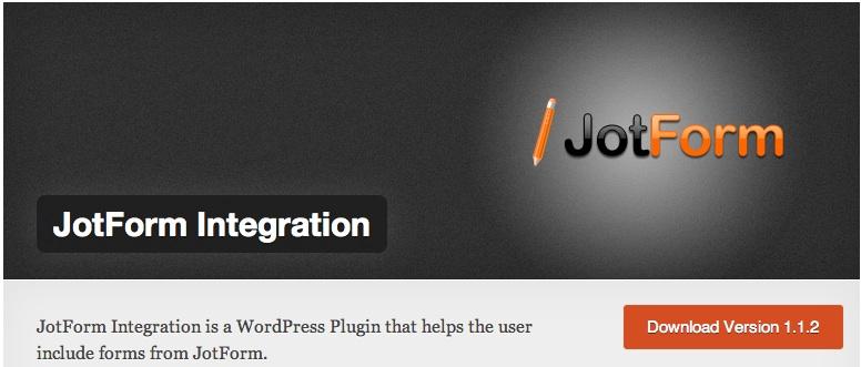 Jotform Integration plug-in