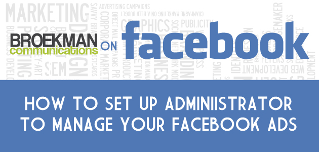 How to let consultants manage your Facebook advertising account