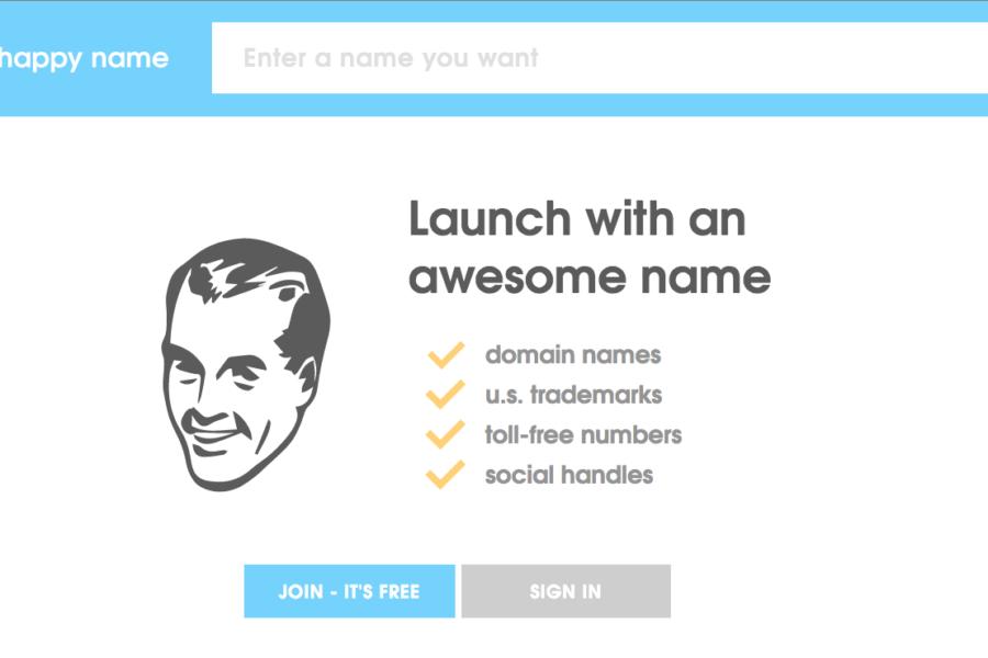Happy name – domains, social media handles & more!